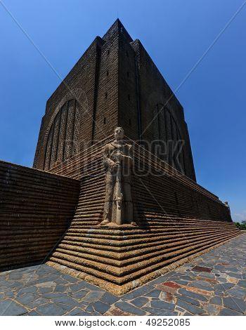 Monument To Afrikaner Leader At Voortrekker Monument