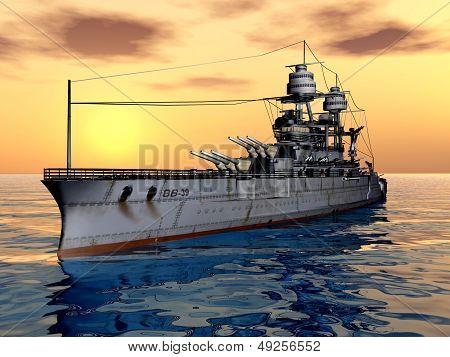 American Battleship USS Arizona