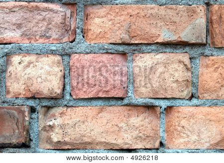 Detailed Brick Wall Background