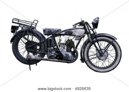 Old French Motorbike