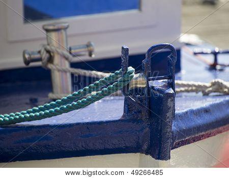 Yahct Sailboat Bow Detail Image