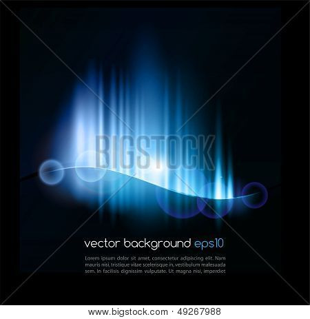 Abstract colorful light  vector background