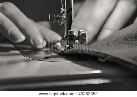 Vintage Sewing Process