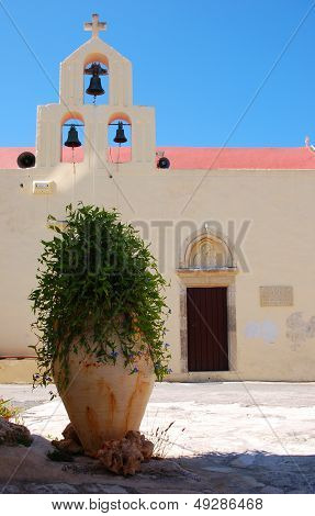 Pot in a cretan monastery
