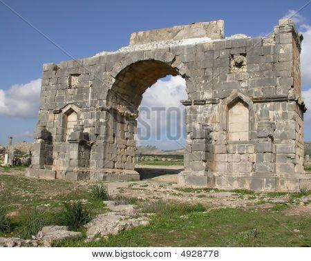Arc De Triomphe In Volubilis