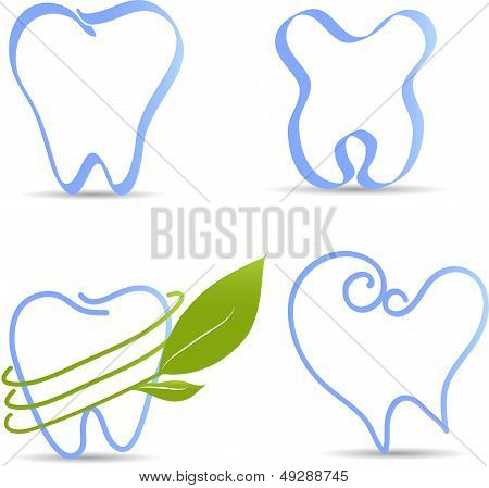Simple tooth illustration