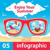 infographic summer time
