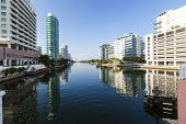 Luxury Houses And Condos At The Canal In Miami