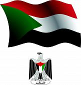 Palestine Wavy Flag And Coat