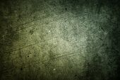 stock photo of macro  - Green grunge textured wall texture - JPG
