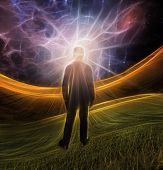 stock photo of perception  - Explosion of imagination - JPG