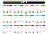 pic of calendar 2014  - 2014 calendar - JPG