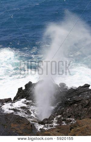 Oahu Blowhole