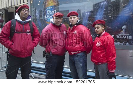 The Guardian Angels Patrol on Broadway