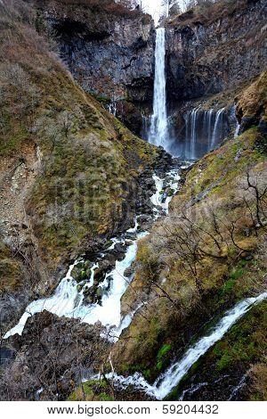 Kegon Falls in NIkko at Japan