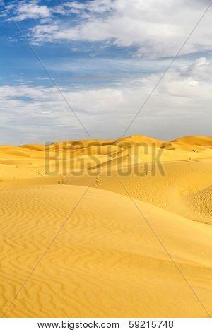 Erg Chebbi sand desert Morocco, North Africa