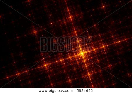 The Grid - Fractal Illustration