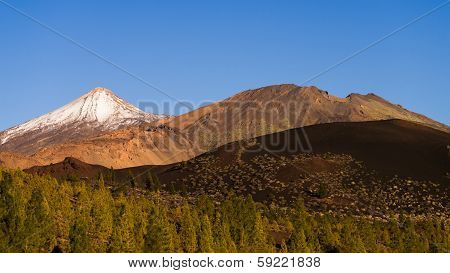 El Teide and Pico Viejo