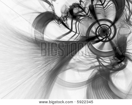 Quantum Spiral - Fractal Illustration