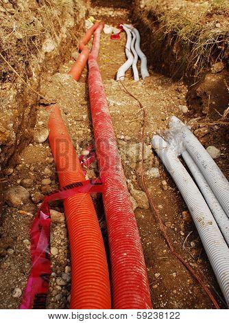Utilities Trench
