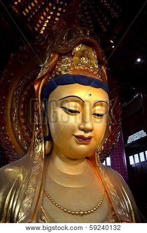 Kuan Yin Image Of Buddha Statue