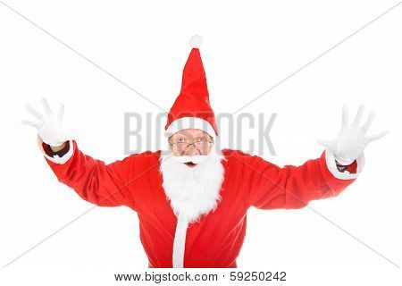 Santa Claus Isolated