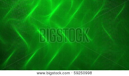 Green fractal abstract background