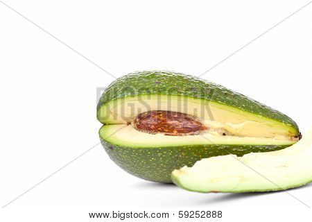 Whole Avacado And Slice