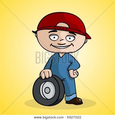 Cambiador do pneu