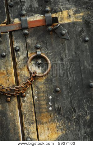 Secure Wooden Doors #1