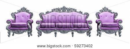 Classic Baroque armchair