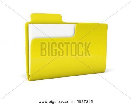 3D Folder Icon