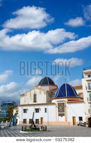 Benidorm San jaime church Alicante in balcon mediterraneo Spain