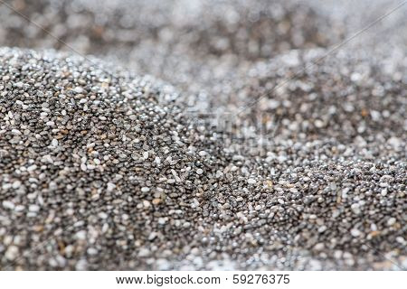 Heap Of Chia Seeds