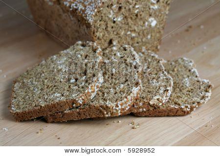 Freshly Baked Bread, Sliced