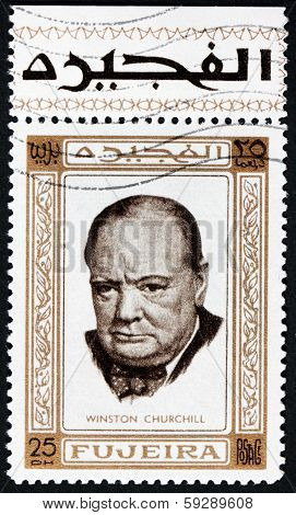 Winston Churchill Stamp