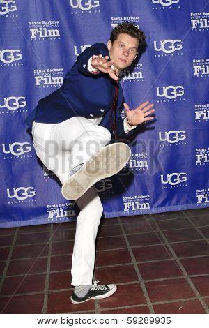 SANTA BARBARA - FEB 1: Alex Beh at the Outstanding Performer Of The Year Award at the Arlington Theater at the 29th Santa Barbara International Film Festival on February 1, 2014 in Santa Barbara, CA