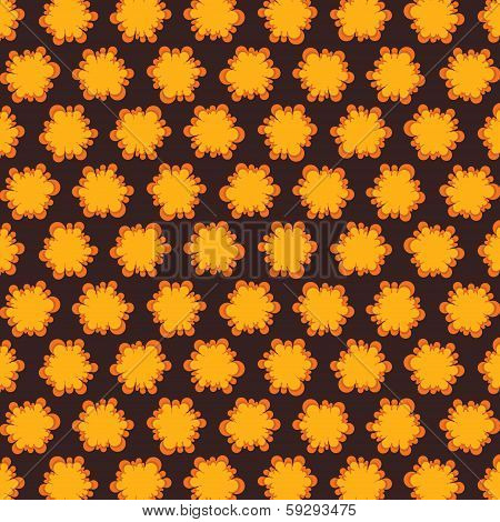yellow abstract design pattern background