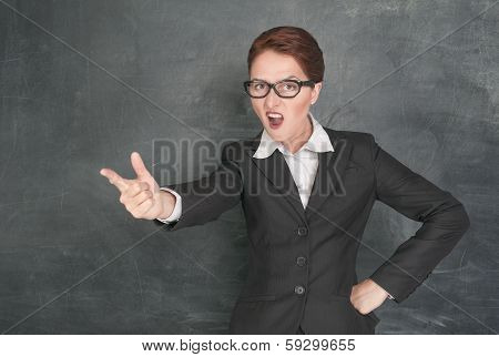 Angry Teacher