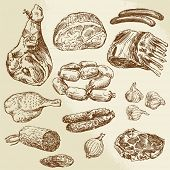 picture of salami  - meat  - JPG