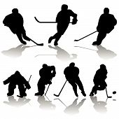 Постер, плакат: Коллекция Хоккей на льду
