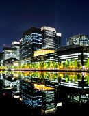 picture of kanto  - Tokyo commercial district - JPG