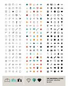 pic of universal sign  - 300 vector universal icons made in outline - JPG