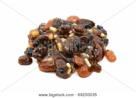 Traditional Mincemeat Made With Currants, Raisins, Sultanas, Citrus Peel And Suet