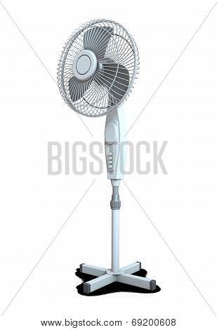 Electric fan device