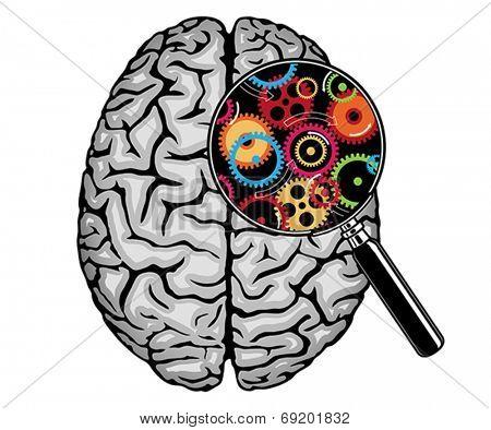 Thinking, idea concept.