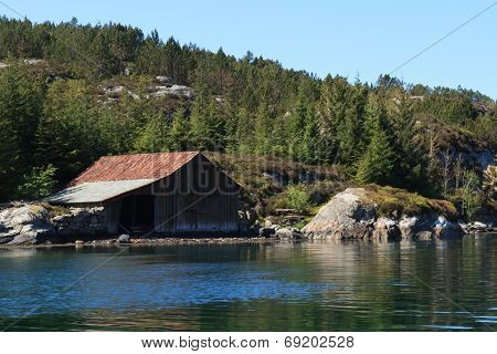 A Boat House In The Archipelago
