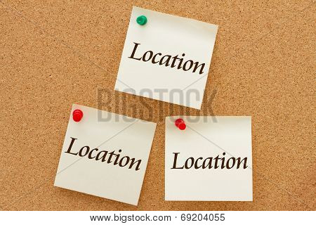 Real Estate Location, Location, Location