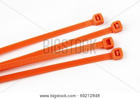 Cable Ties In Orange