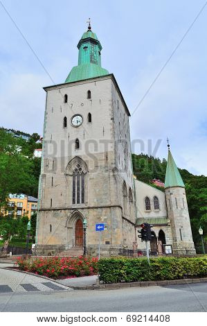 The Cathedral In Bergen